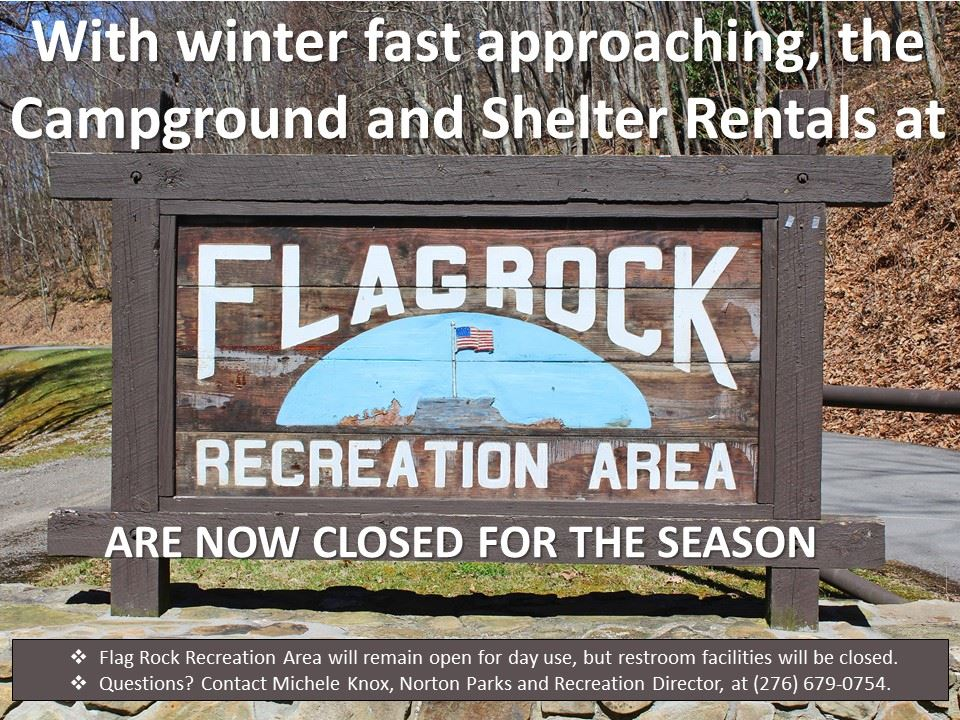 Flag Rock Closure Flyer