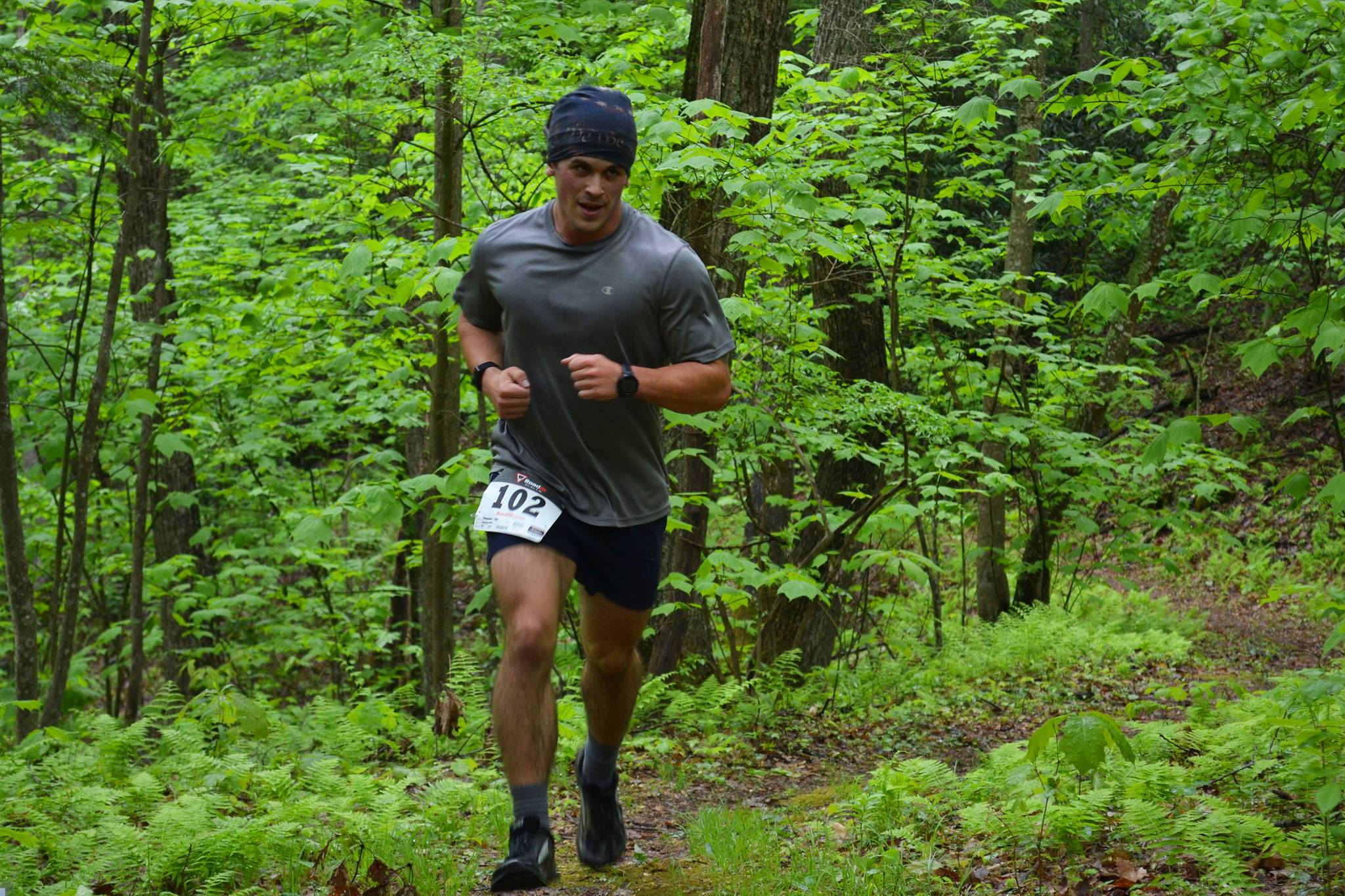 Photo of a trail runner