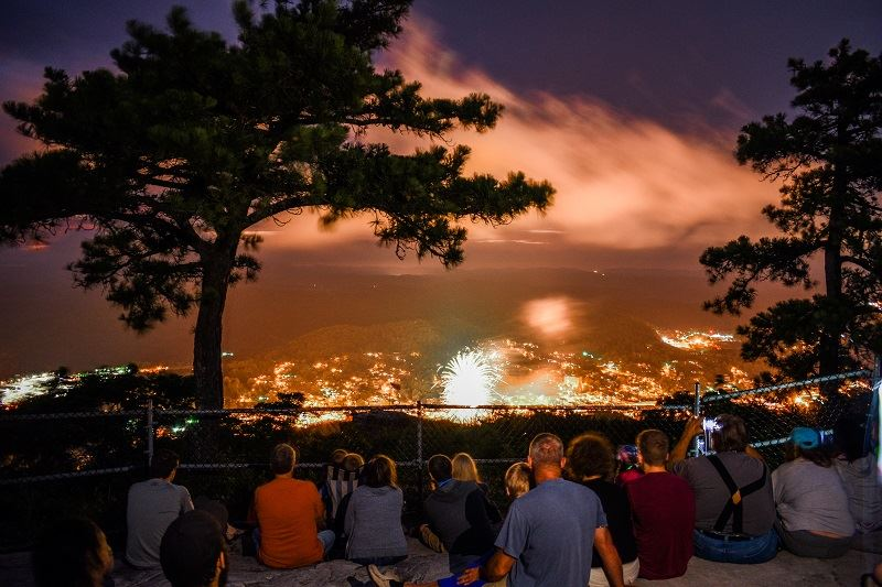 Photo of Norton fireworks show