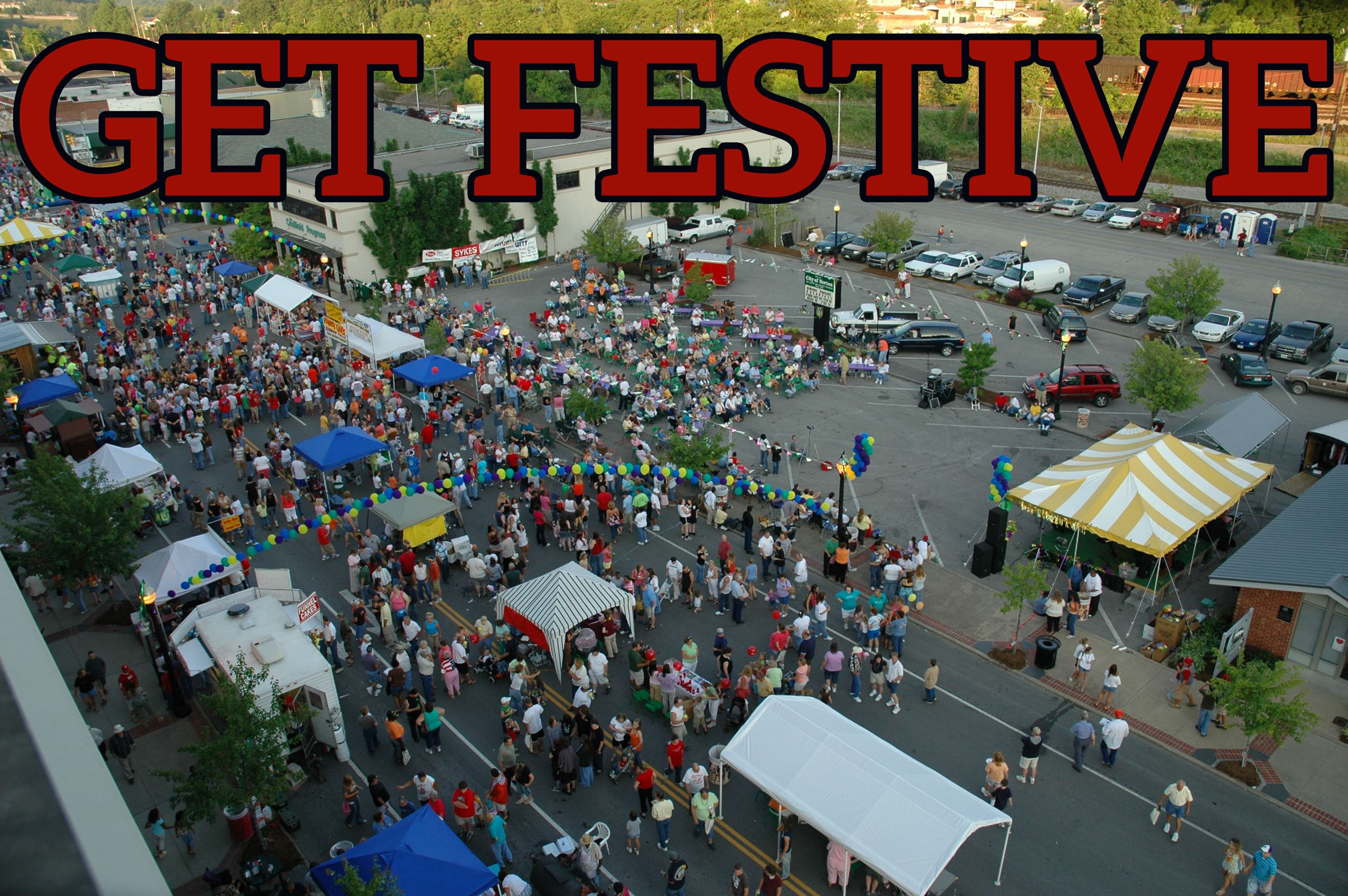 Photo of Best Friend Festival in downtown Norton