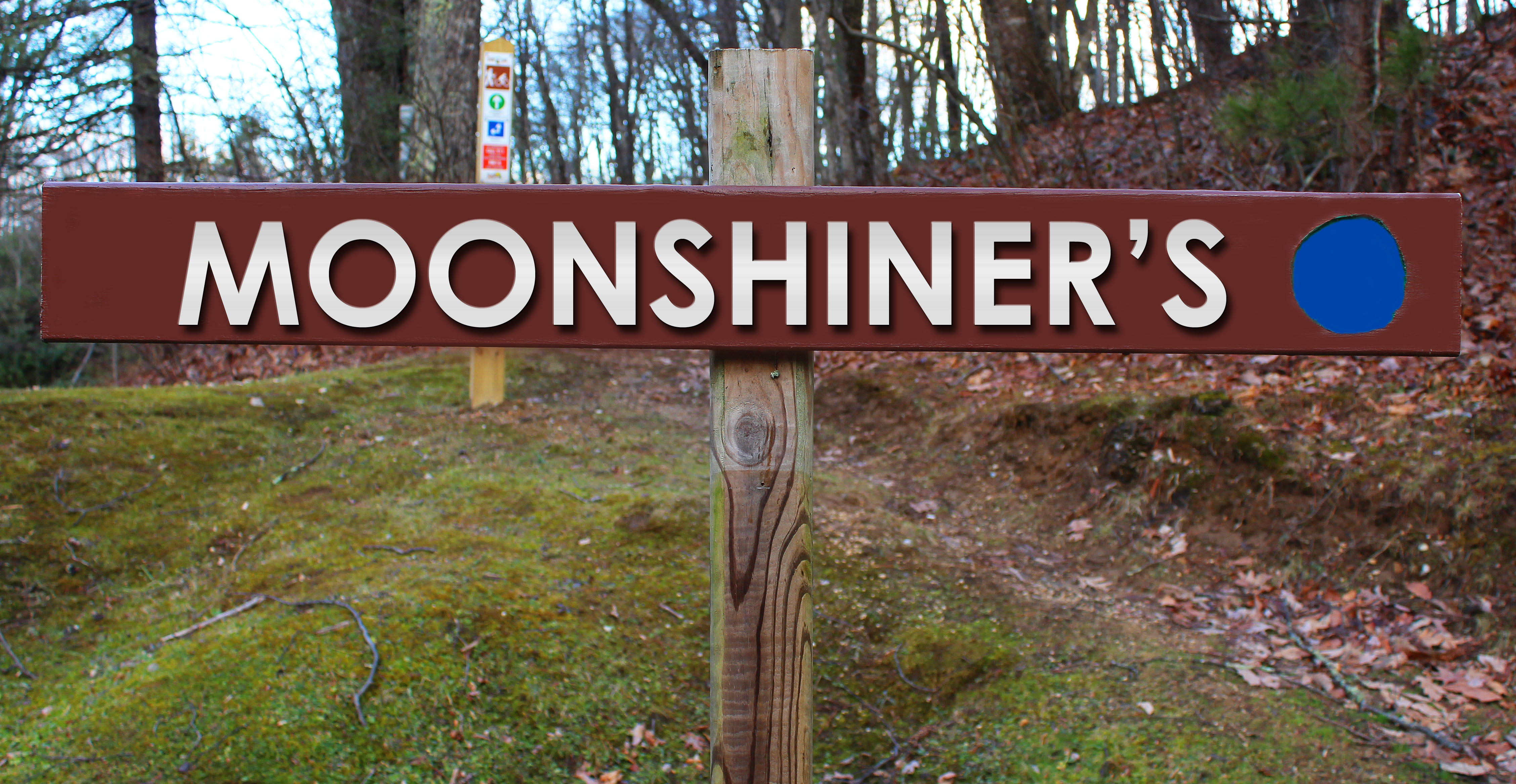 Picture of Moonshiner's trail sign