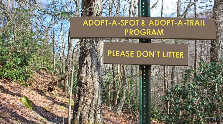 Picture of Adopt A Spot sign